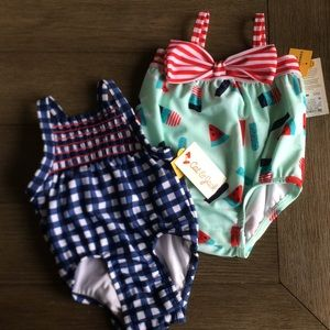 Cat and Jack infant bathing suit set 3-6months